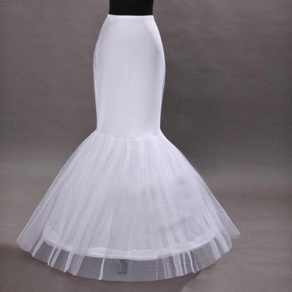 Mermaid wedding dress petticoat A#APXPF - Simply Fab Dress