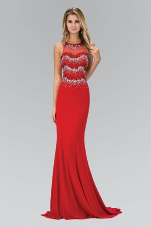 Long red prom dress gls 1361-Simply Fab Dress