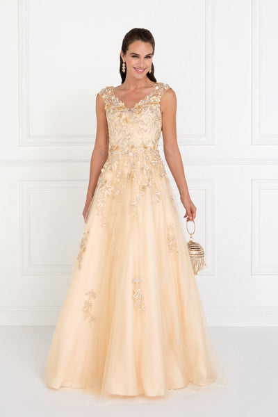 Elegant ball gown dress gls 1517-Simply Fab Dress