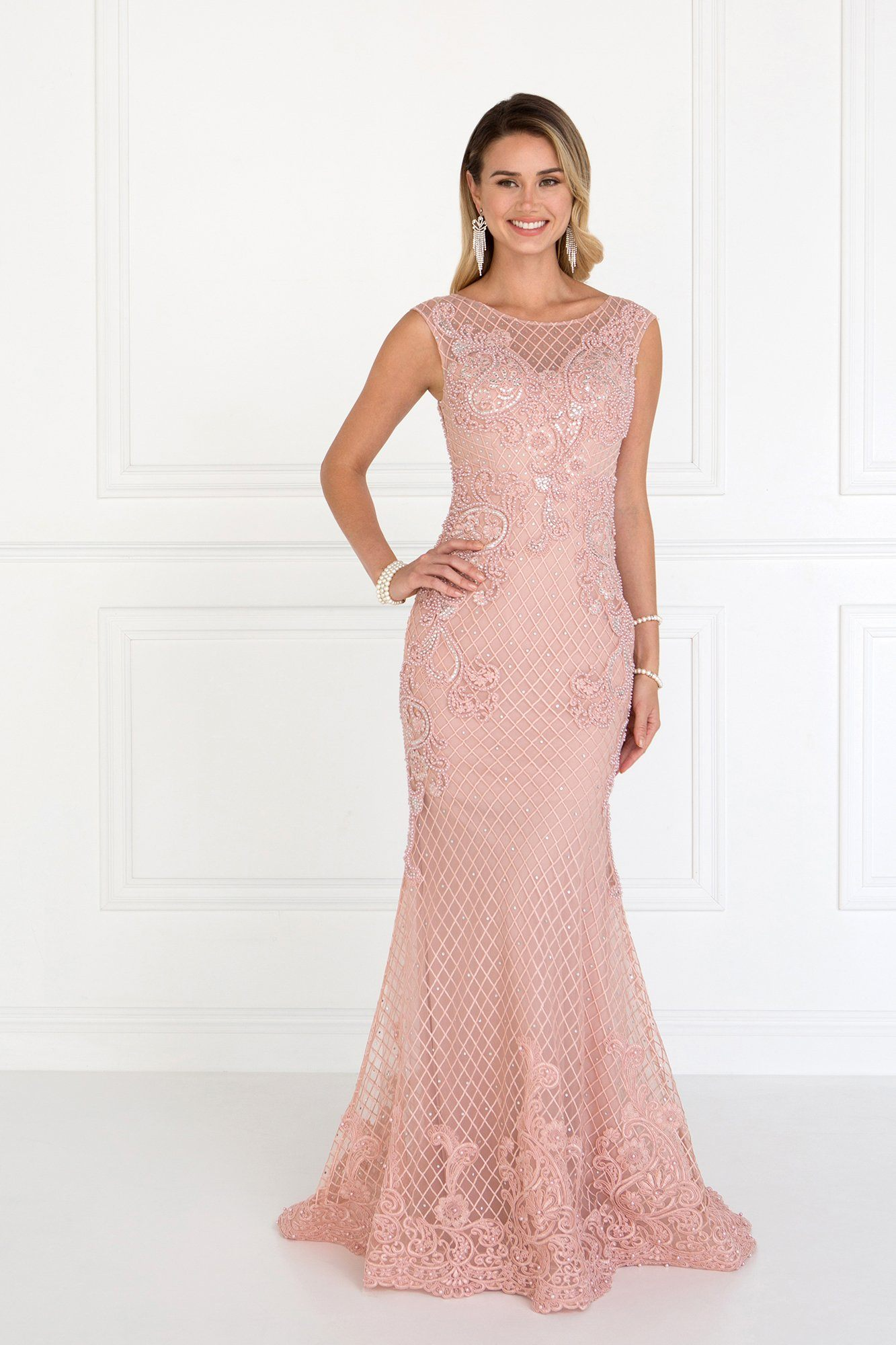 Fancy elegant evening dress gls 1536-Simply Fab Dress
