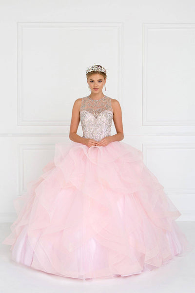 Blush Pink Quinceanera Dress-Simply Fab Dress