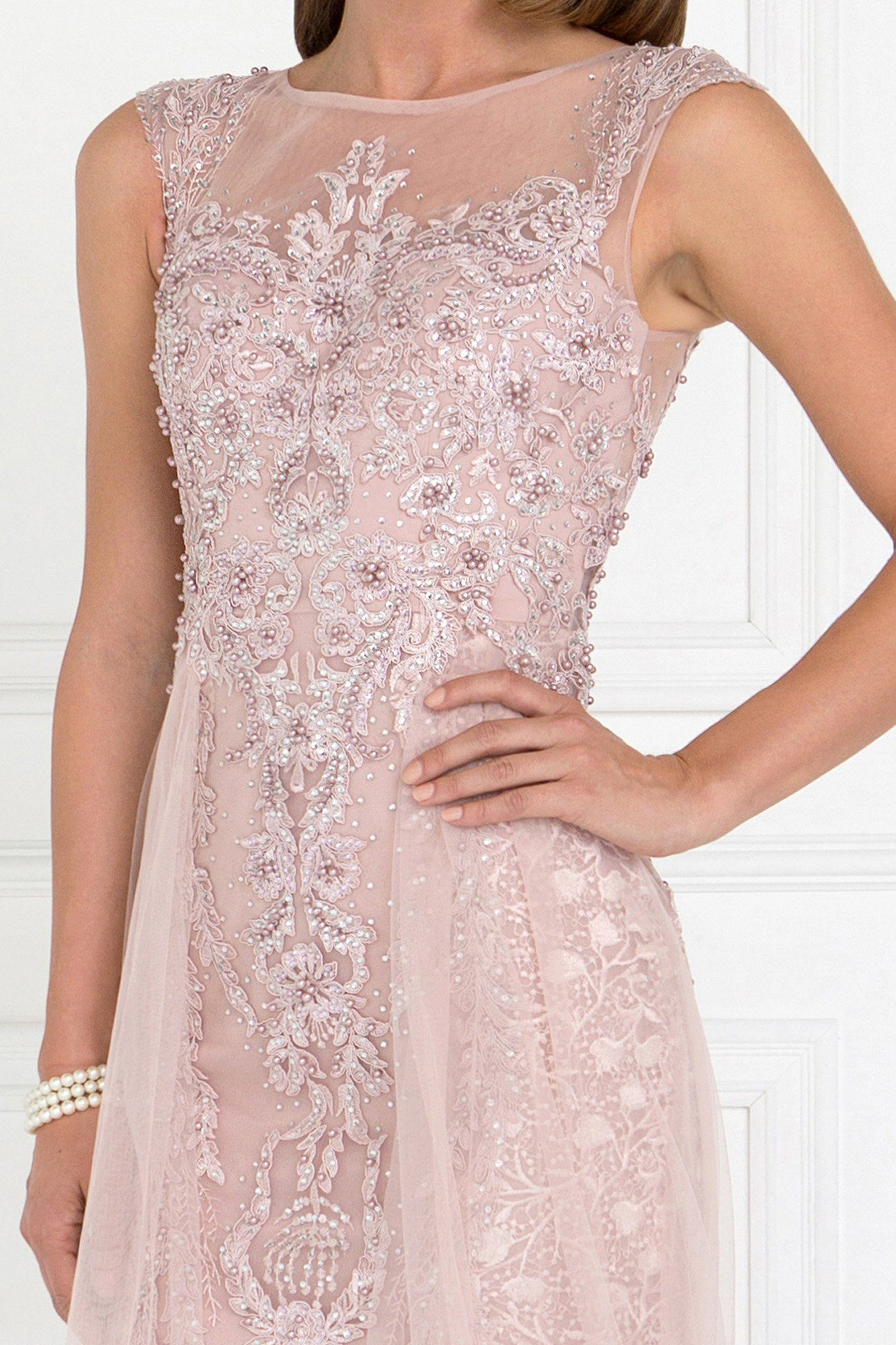 Extravagant lace evening dress gls 1583-Simply Fab Dress