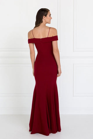 Off the shoulder Long homecoming   gls 1593