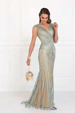 Floor length evening gown gls 2053-Simply Fab Dress