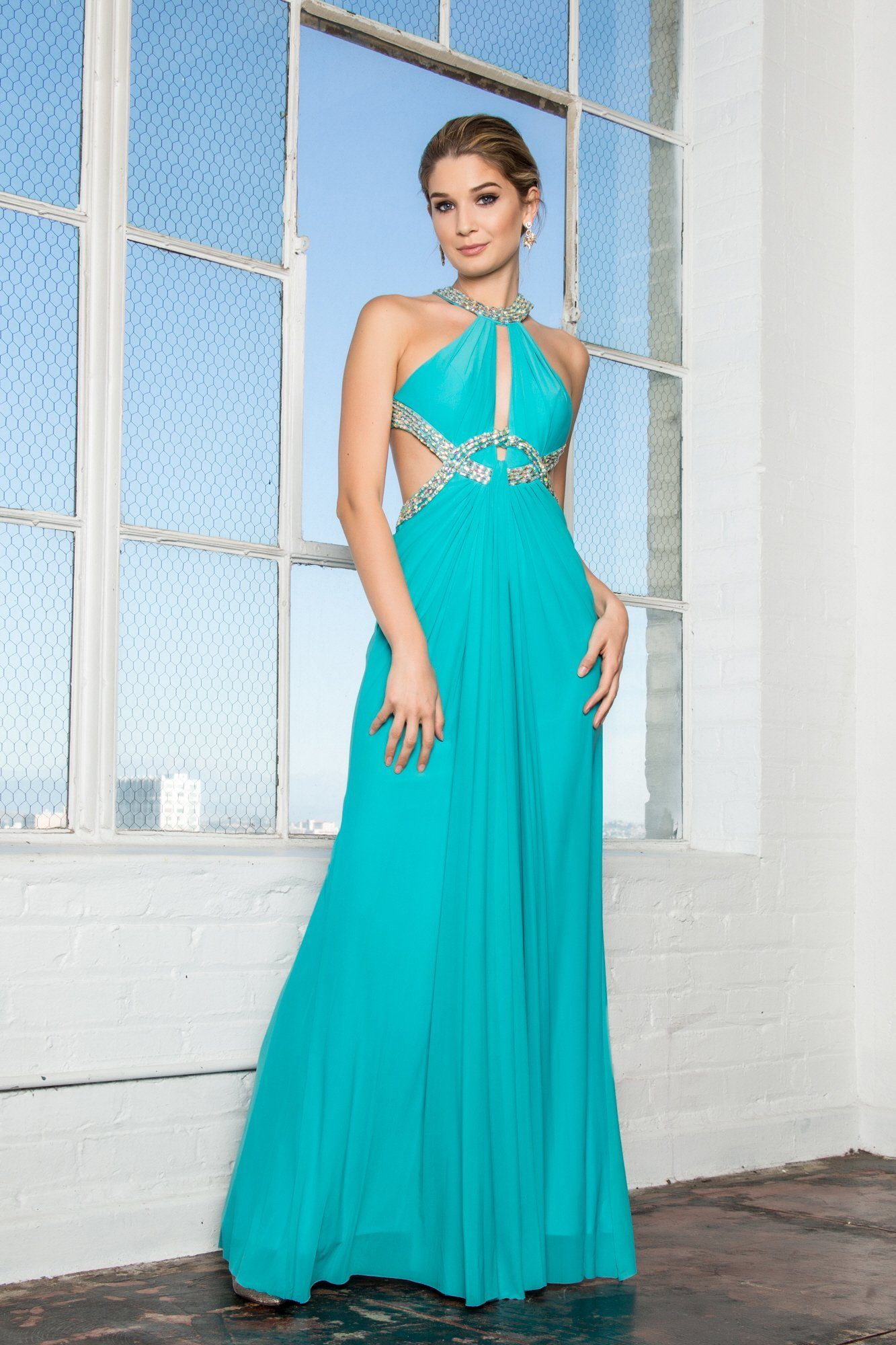Sexy open pack formal dress gls 2142-Simply Fab Dress
