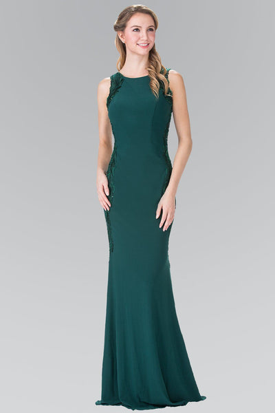 Emerald tight formal dress gls 2222-Simply Fab Dress