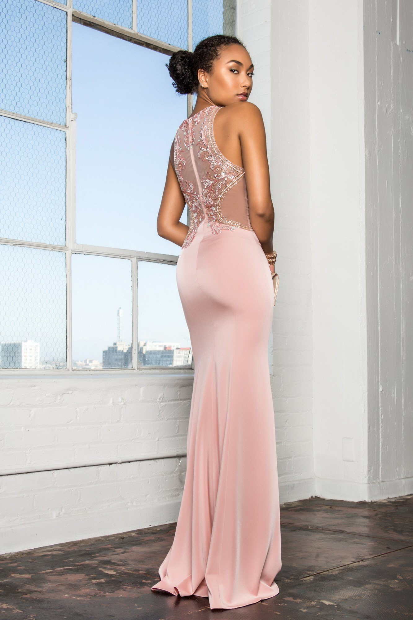 Sexy tight formal dress gls 2237-Simply Fab Dress
