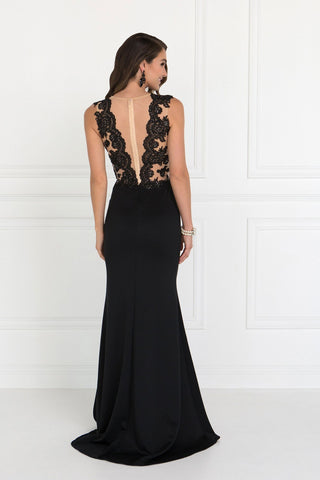 Sexy Black Formal Dress gls 2286-Simply Fab Dress