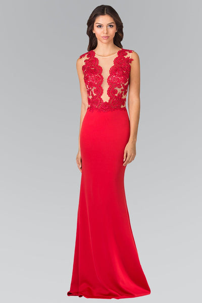 Sexy red formal dress gls 2286-Simply Fab Dress