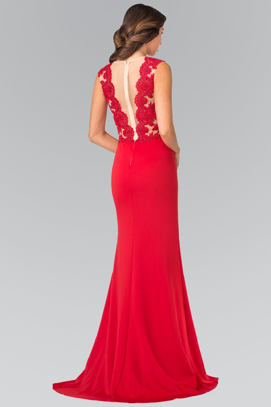 0ee03c5304 ... Sexy red formal dress gls 2286-Simply Fab Dress ...