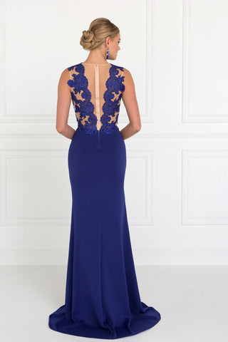 Seductive fitted evening gown  GLS 2286