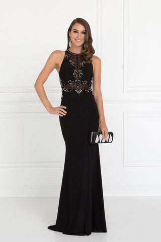 Long black evening gown gls 2298-Simply Fab Dress