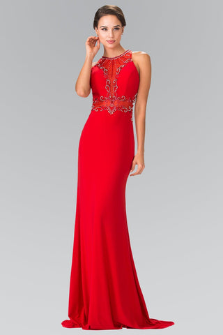 Long red formal dress gls 2298-Simply Fab Dress