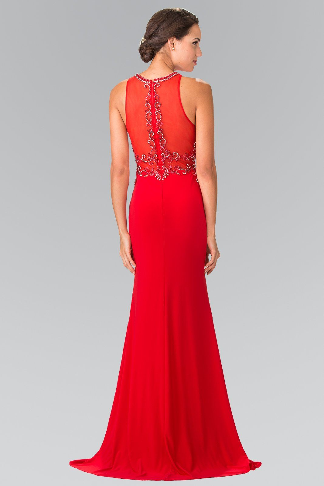 6ed6920a655 ... Long red formal dress gls 2298-Simply Fab Dress ...