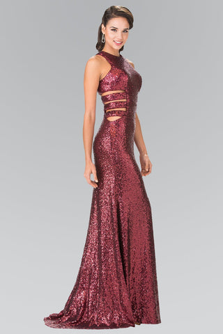 Sequin prom dress gls 2299-Simply Fab Dress