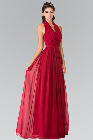 Burgundy formal dress gls 2362-Simply Fab Dress
