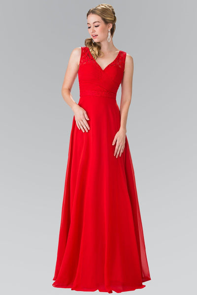 Long red formal dress gls 2363-Simply Fab Dress