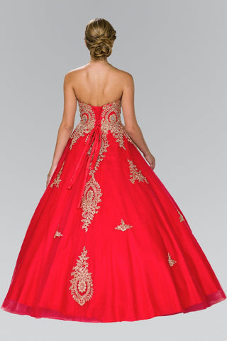 Red quinceanera dress gls 2379-Simply Fab Dress