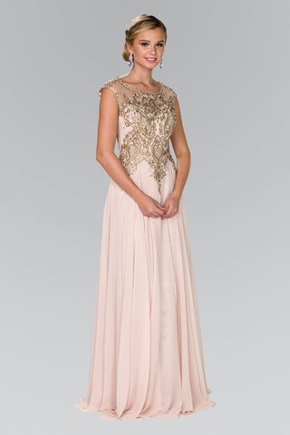 cbe5c8640e7 Champagne evening gown gls 2407-Simply Fab Dress