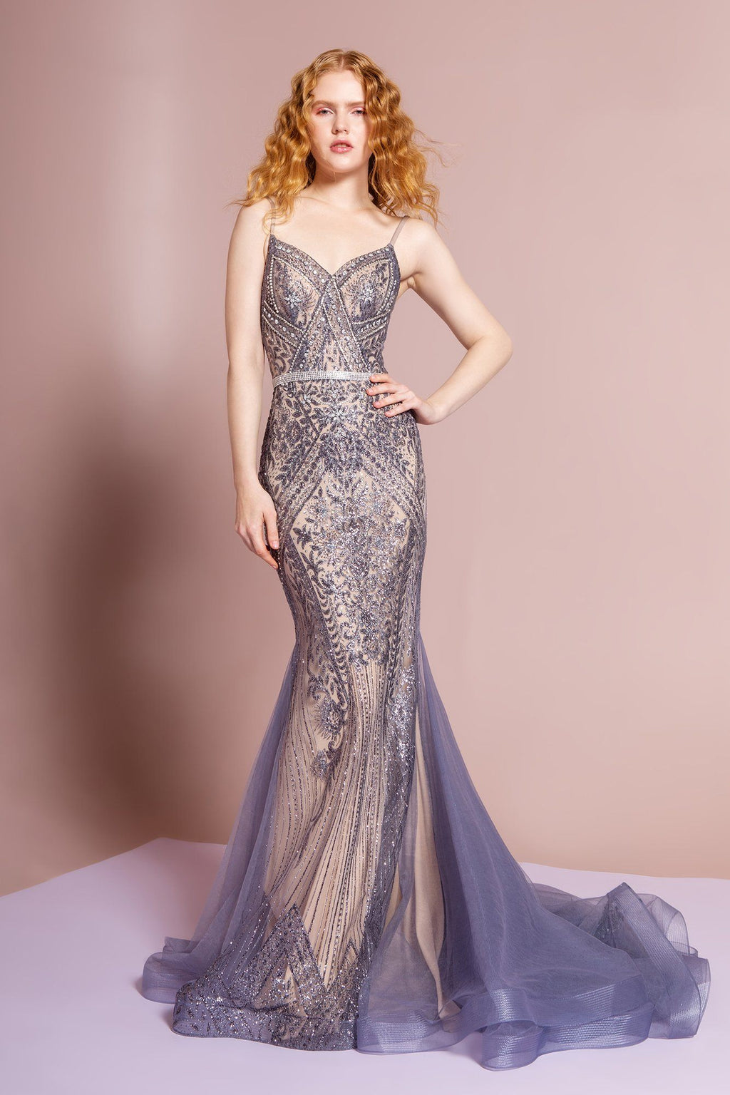 Extravagant mermaid pageant dress gls 2679-Simply Fab Dress