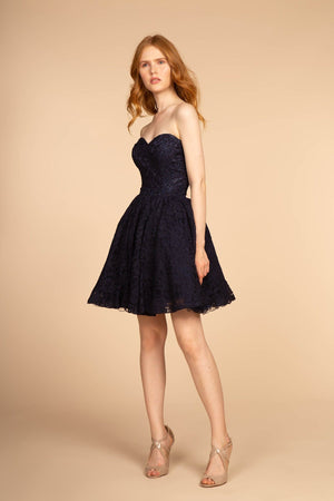 Lace homecoming dress GS1611-Simply Fab Dress