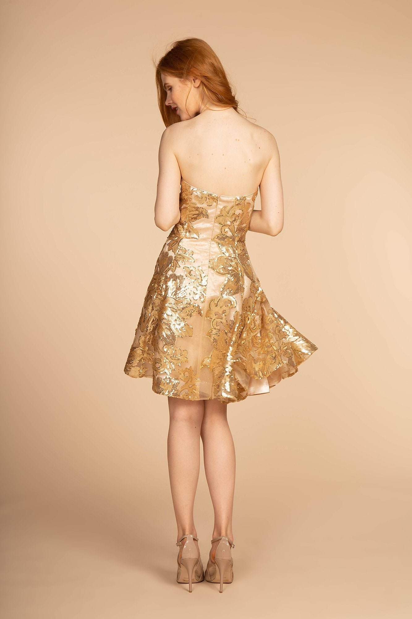 Sequin homecoming dress GS1635-Simply Fab Dress