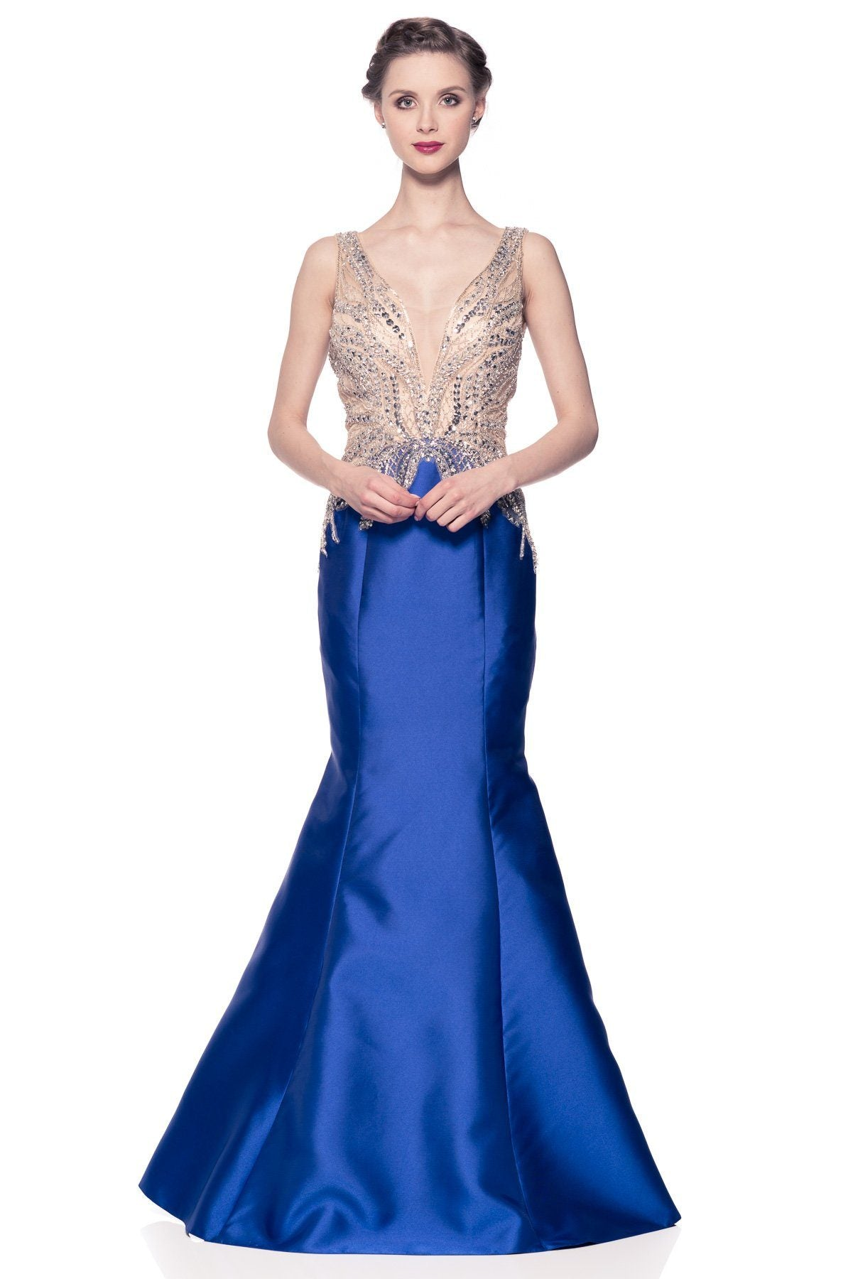 Royal blue mermaid pageant dress BC CB10282 – Simply Fab Dress