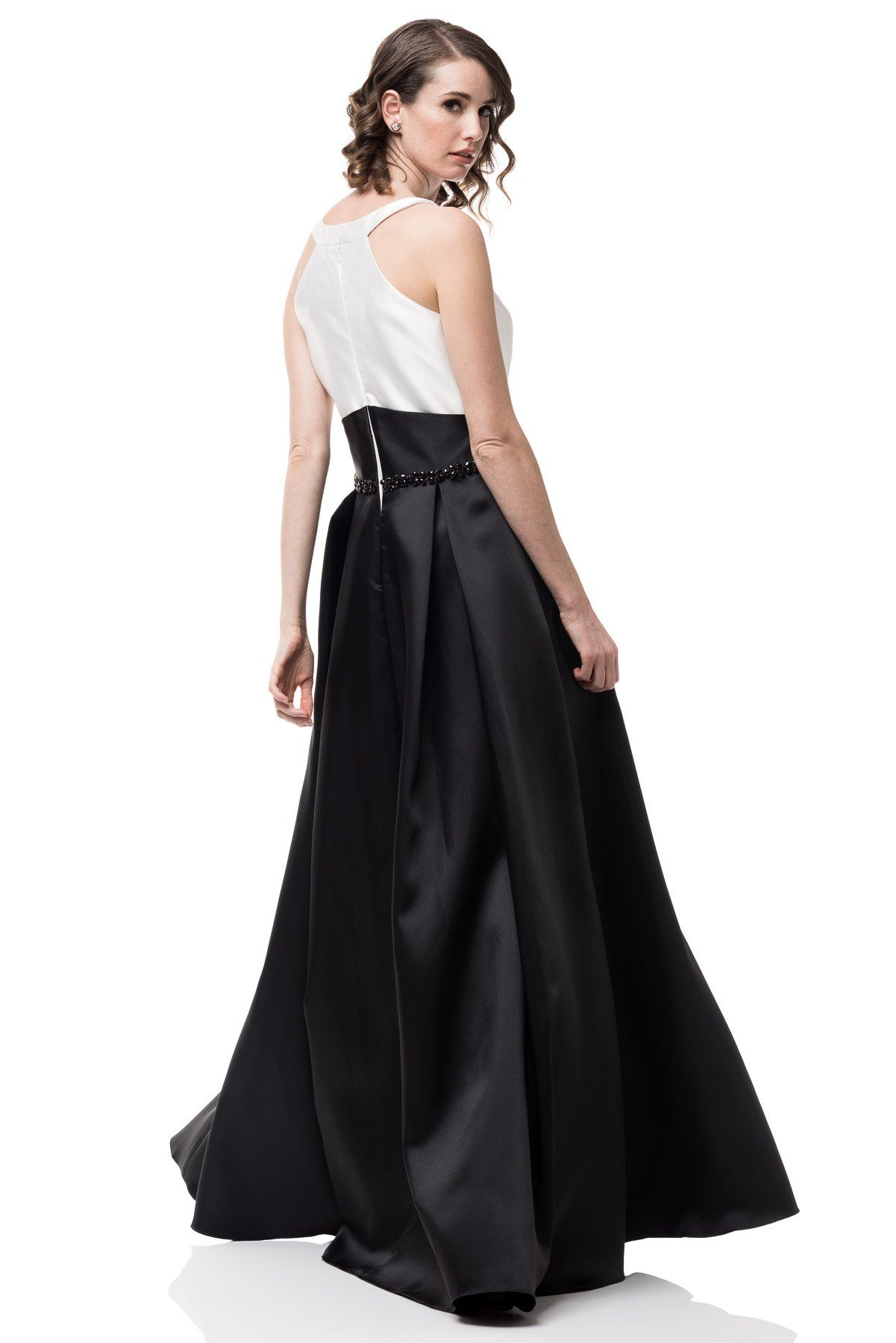 Black and white formal dress #CC71108-Simply Fab Dress