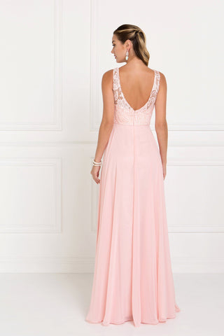 Long chiffon evening dress gls 2420-Simply Fab Dress