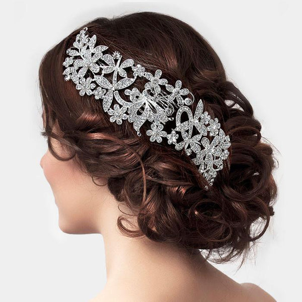 Dazzling floral wedding hair accessory - Simply Fab Dress