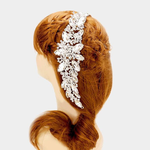 Rhinestone bridal hair accessories #337877 - Simply Fab Dress