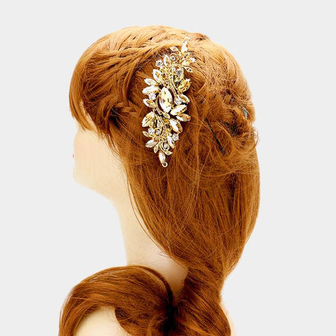 Rhinestone bridal hair accessories #340317 - Simply Fab Dress