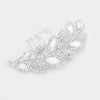 Silver rhinestone bridal hair accessory #w341834 - Simply Fab Dress