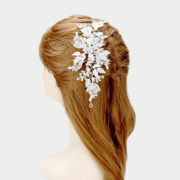 Wedding Hair Piece  [404477] CSH3372-S-CRY