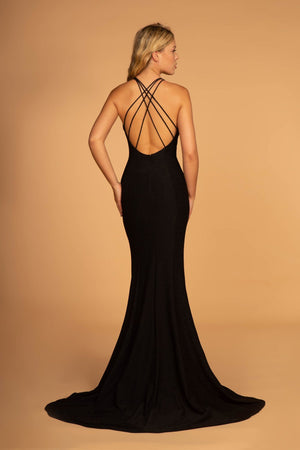 Sexy Black Gown GL2549-Simply Fab Dress