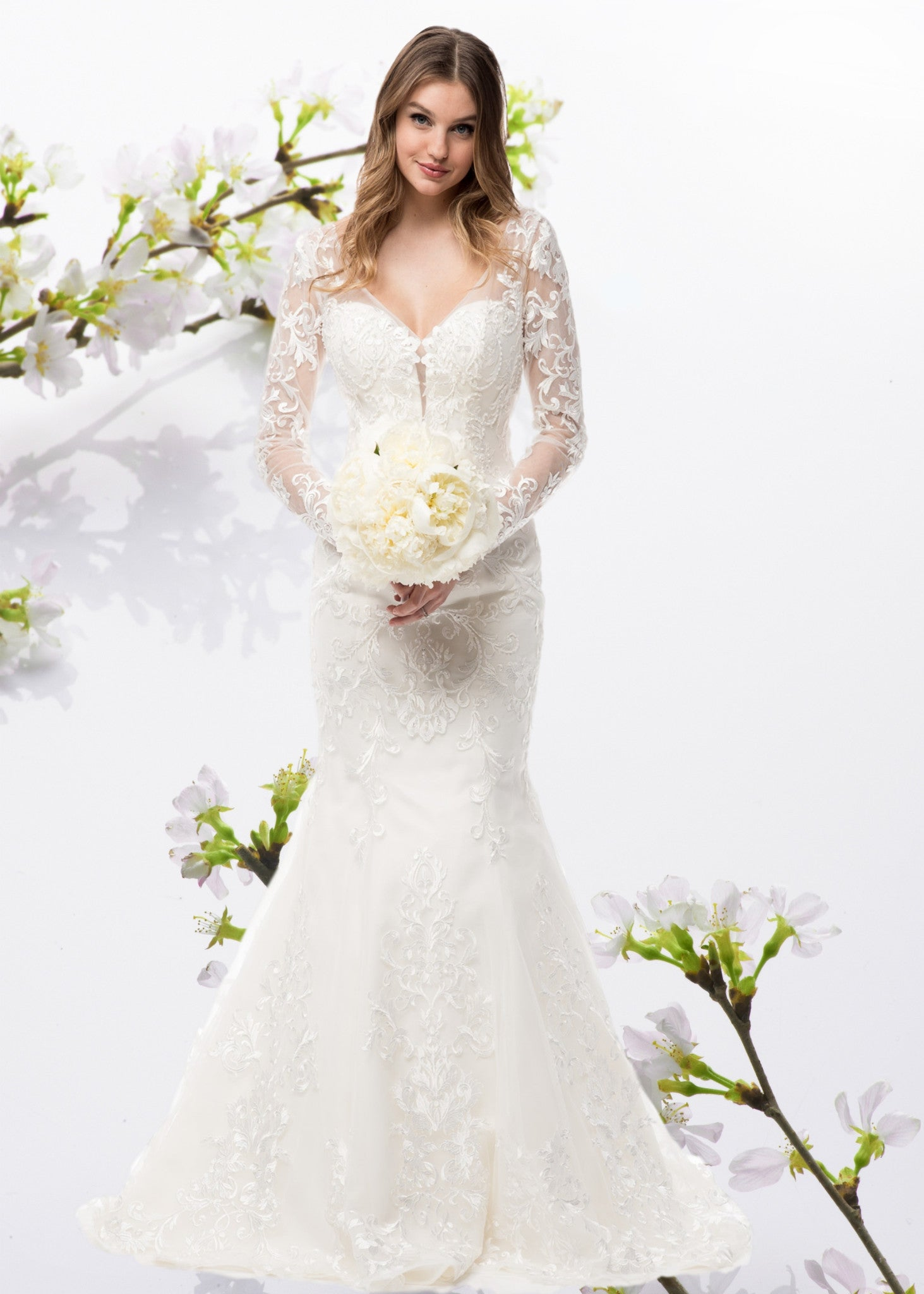 Inexpensive Long sleeve wedding dress -simply fab dress – Simply Fab ...