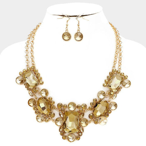 Statement fashion necklace 325101FN7681 - Simply Fab Dress