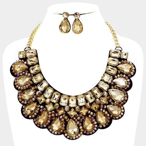 Statement fashion necklace  322924 FN8411 - Simply Fab Dress