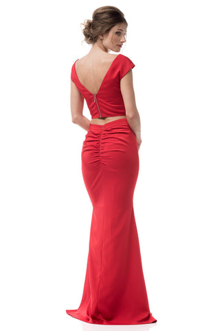 1964f7c616a Sexy two piece homecoming dress BC FRG17083 - Simply Fab Dress