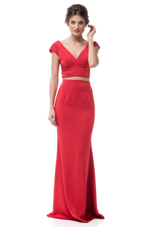 Sexy two piece homecoming dress BC#FRG17083-Simply Fab Dress
