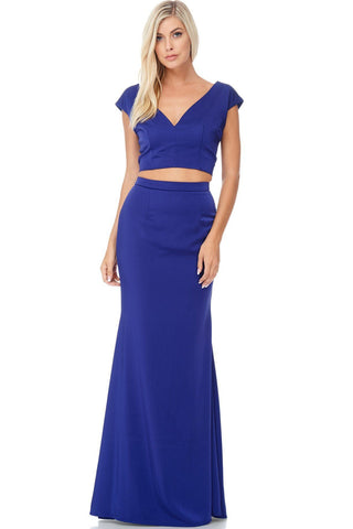 Sexy two piece homecoming dress BC#FRG17083 - Simply Fab Dress