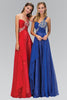 Sparkling One Strap Empire Waist Long Chiffon Prom Dress #gl1154 - Simply Fab Dress