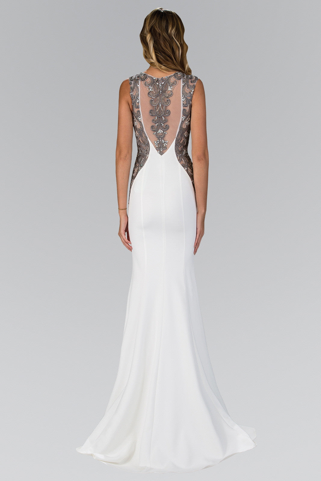 White cut out back evening gown & black tie dress – Simply Fab Dress