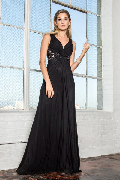 Long chiffon prom dress 103-gl1377
