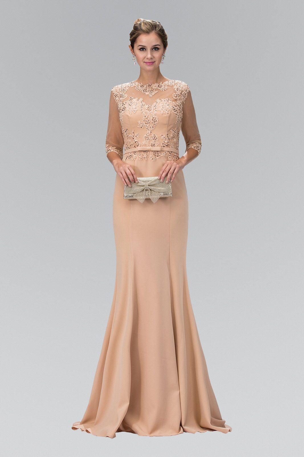 Floor length evening dress & Mother of the Bride Dress – Simply Fab ...