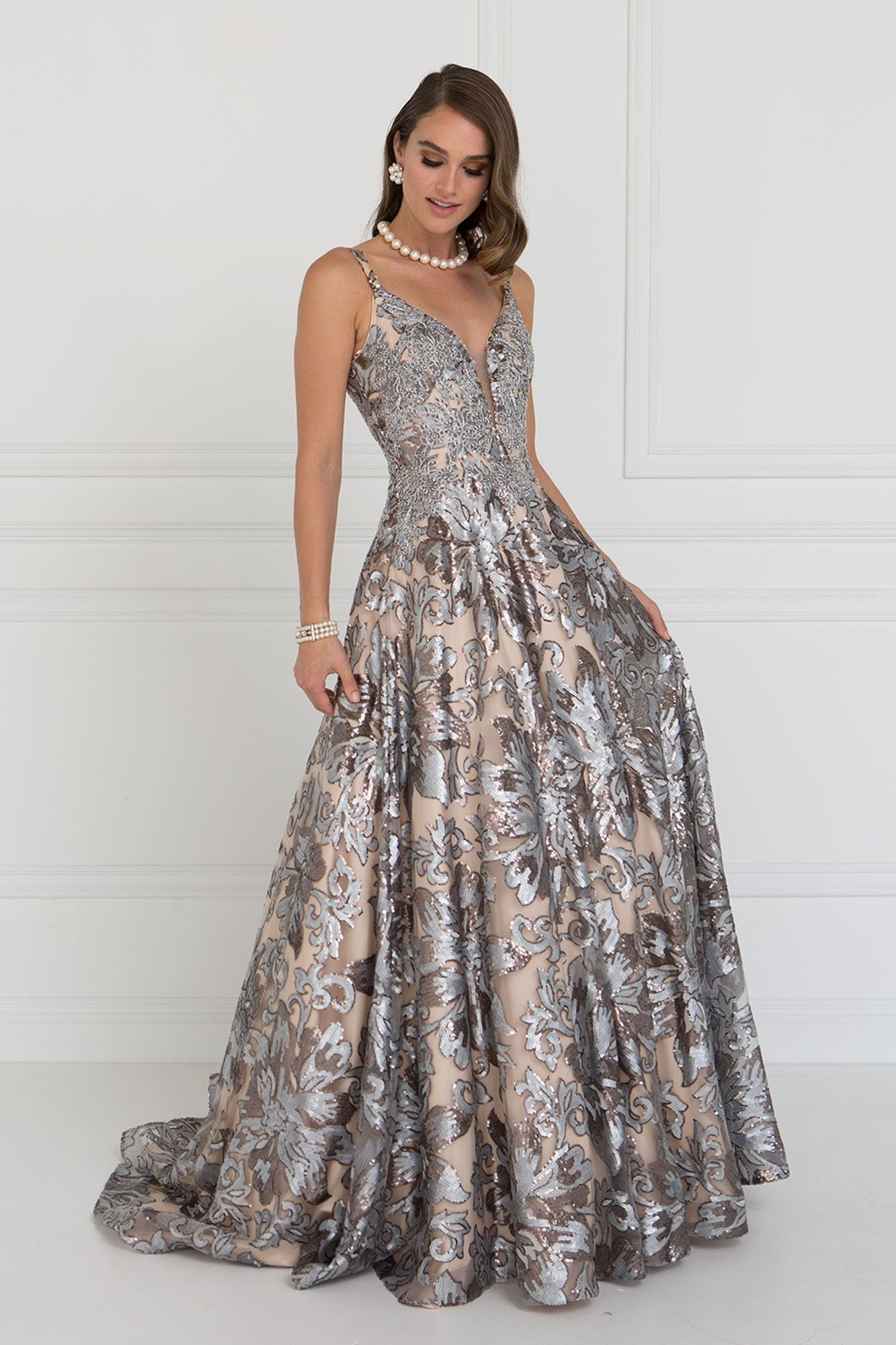 8eaf29c78ef Extravagant prom and evening gown gls 1511