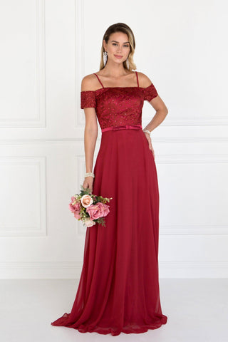 sexy burgundy formal dress #AN949