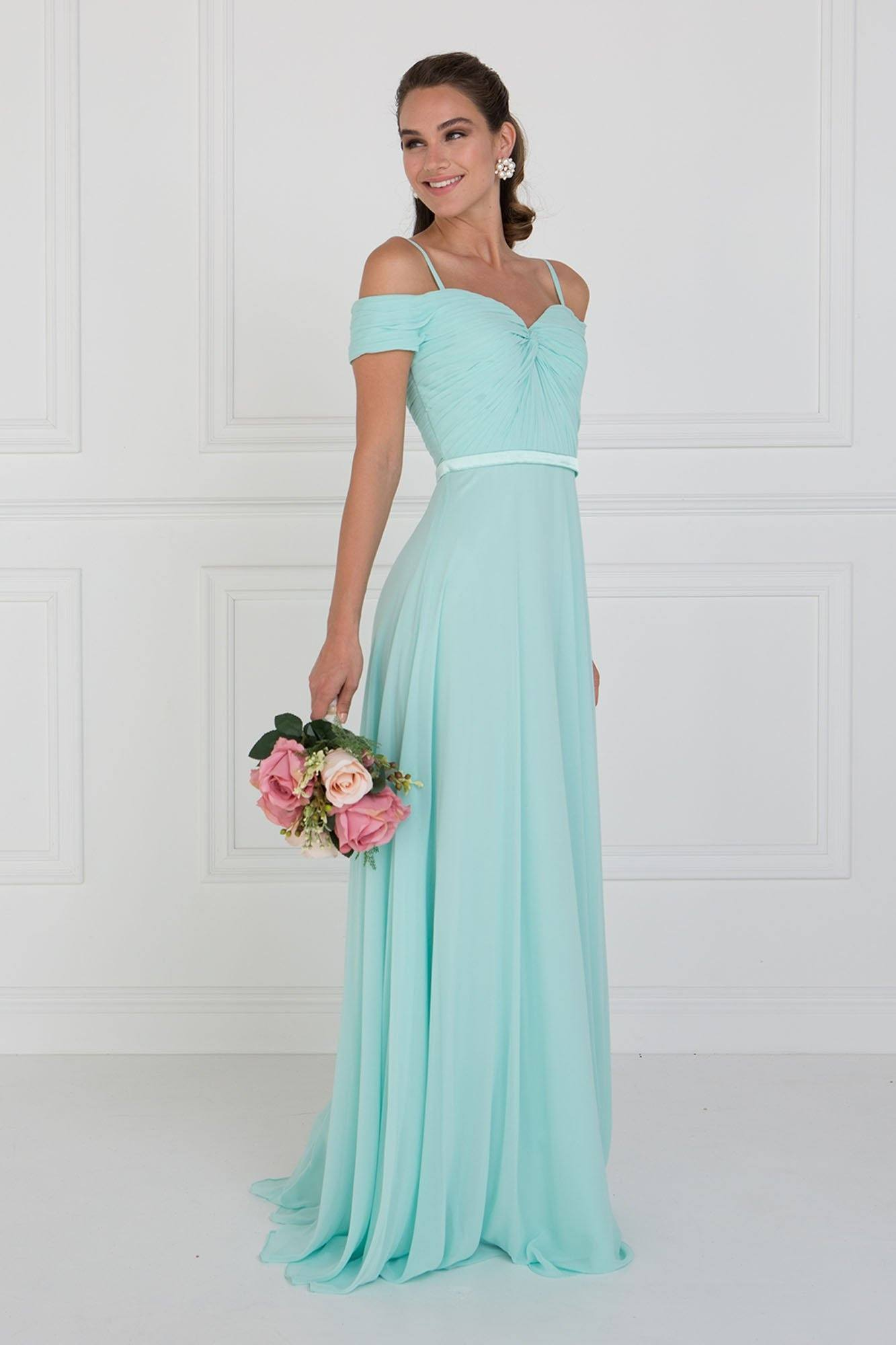 Elegant bridesmaid dress & off the shoulders gown – Simply Fab Dress