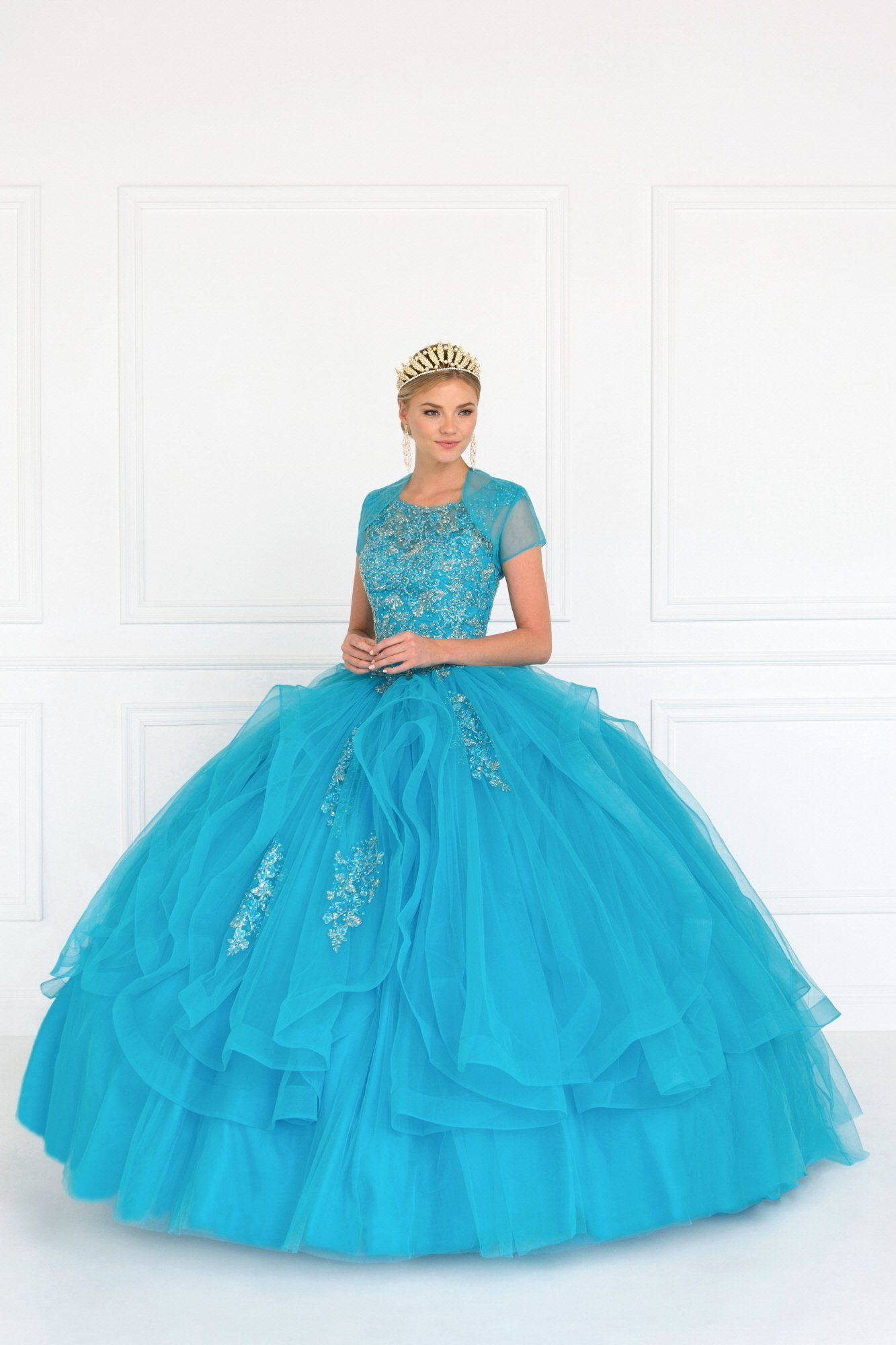 Beautiful puffy quinceanera prom dress – Simply Fab Dress