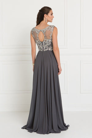 Glamorous evening gown & prom dress GLS 1565S-Simply Fab Dress